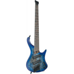 Ibanez EHB1505MS Pacific Blue Burst Flat