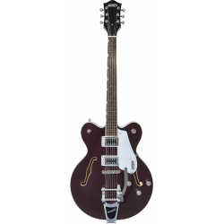 G5622T Electromatic® Center Block Double-Cut with Bigsby®, Laurel Fingerboard, Dark Cherry Metallic