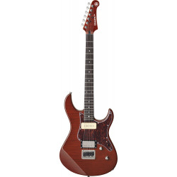 Yamaha Electric Guitar Pacifica611Hfm Root Beer