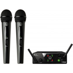 Sistema Inalámbrico Akg WMS40 Mini Dual Vocal Set
