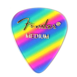 Pack 12 Púas Fender Rainbow Medium