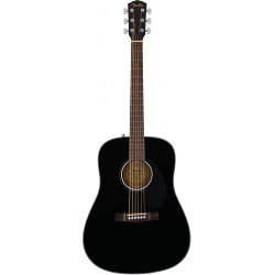 Fender CD-60S Black Guitarra Acústica