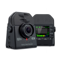 Grabadora de audio y vídeo ZOOM Q2N 4K